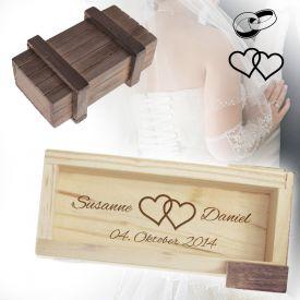 Magische IQ Box zur Hochzeit - Romantische Hochzeitsgeschenke