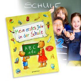 Mein erstes Jahr in der Schule - Buch zum Ausfllen