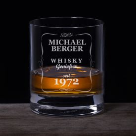 Personalisiertes Whiskyglas - Klassisch - Personalisierte Geschenke