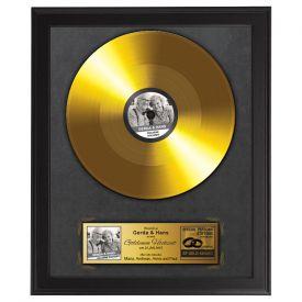 Schallplatte - personalisiert zur Goldenen Hochzeit - Personalisierte Bilder