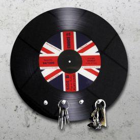 Schallplatte Union Jack - Schl�sselbrett