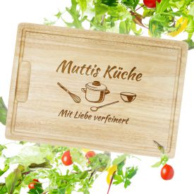 Schneidebrett - Muttis Küche - Top 10: Originelle Muttertagsgeschenke