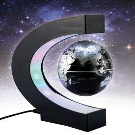 Schwebender Globus mit LED Beleuchtung - Schwebender Globus, Globus, Globus beleuchtet, Schwebeglobus, Leuchtglobus, Globus Weltkugel, Globus mit Beleuchtung, Tischglobus, Mini Globus, Globus Dekoration