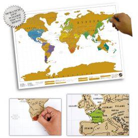 Scratch Map - Geschenke zum Abitur