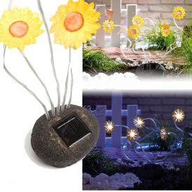 Solarleuchte Sonnenblume