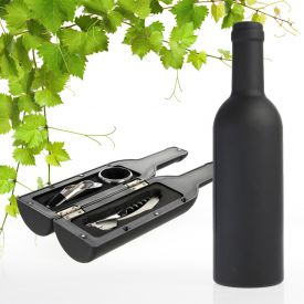 Sommelier Set in Flaschenform