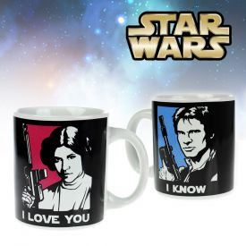 Star Wars Tasse - Han Solo und Leia