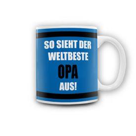 Tasse - Weltbester Opa - Geschenke zum 60. Geburtstag