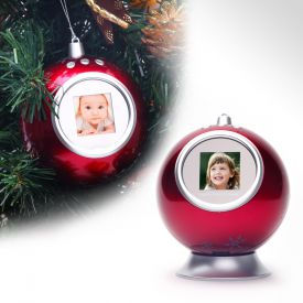 Weihnachtskugel - Digitaler Bilderrahmen