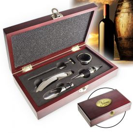 Wein Sommelier-Set - mit Gravur - Geschenke zum 50. Geburtstag