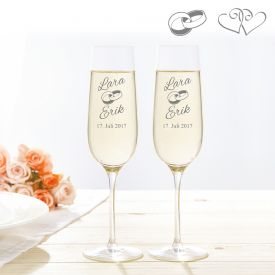 Fltes  champagne  Mariage