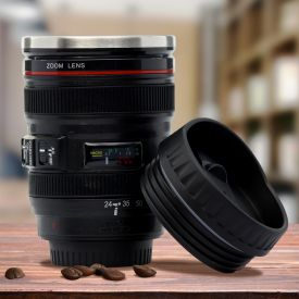 Tasse  caf thermo  objectif de camra
