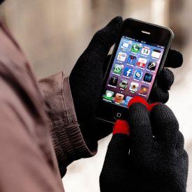Touchscreen Handschuhe - pink