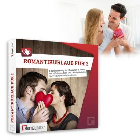 Romantikurlaub fr 2 - Kurzurlaub Hotelgutschein