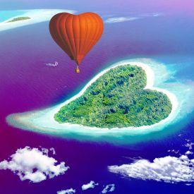 Herzinsel fr Verliebte