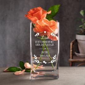 Vase fr Mama - personalisiert