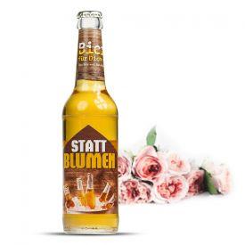 Bierflasche 033 l - Bier statt Blumen