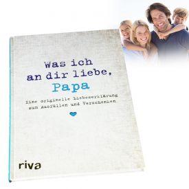 Buch zum Ausfllen - Was ich an Dir liebe Papa