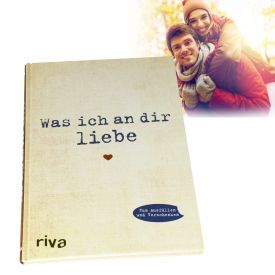 Buch zum Ausfllen - Was ich an Dir liebe