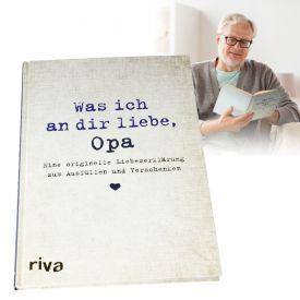 Buch zum Ausfllen - Was ich an Dir liebe Opa