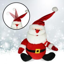 Singender Weihnachtsmann mit tanzender Mtze