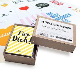 Glcklichmacher Box - 36 Karten fr fast alle Anliegen