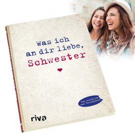 Buch zum Ausfllen - Was ich an Dir liebe Schwester