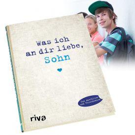 Buch zum Ausfllen - Was ich an Dir liebe Sohn