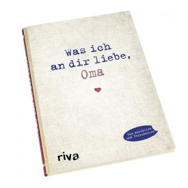 Buch zum Ausfllen - Was ich an Dir liebe Oma
