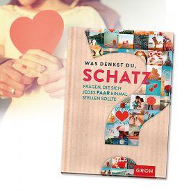 Frage-Buch fr Paare - Was denkst Du Schatz