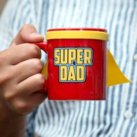 Super Dad - Mug avec cape