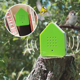 Zwitscherbox mit Vogelgesang
