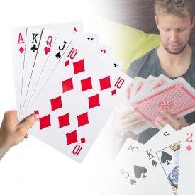 bergroe Spielkarten XXL - 28x20 cm