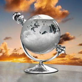 Verre de tempte pour prvisions mtorologiques - Globe
