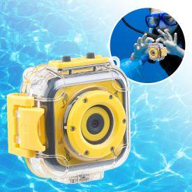 Kinderkamera HD - Action Cam mit Unterwassergehuse