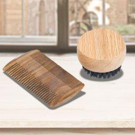 Bartpflege - Set aus Holz