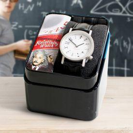 Armbanduhr Einsteins Relativittstheorie - schwarz