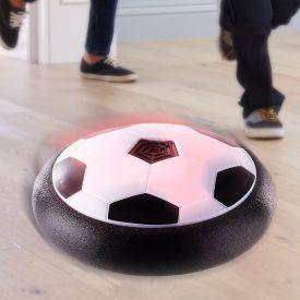 Luftkissen Fuball mit LED-Farbwechsel