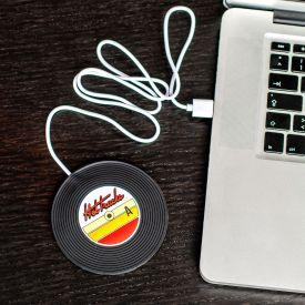 USB Tassenwrmer - Schallplatte