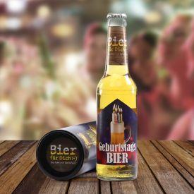Bierflasche 033 l - Geburtstagsbier