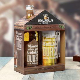 Kleines Brauhaus - Bierset fr Mnner mit Gefhlen