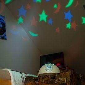 Nachtlicht Projektor - Mond und Sterne