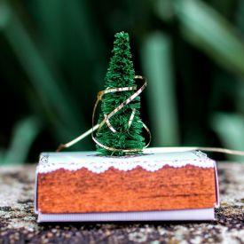 Mini Weihnachtsbaum fr den Schreibtisch
