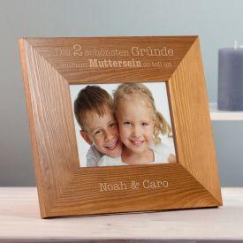 Personalisierter Bilderrahmen - Warum Muttersein so toll ist