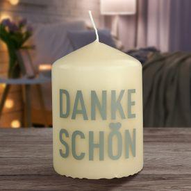 Kerze - Dankeschn