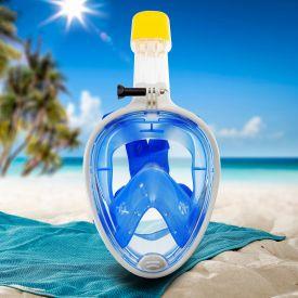 Schnorchelmaske fr Kinder - blau