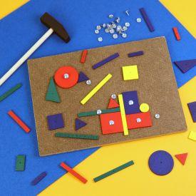 Hammerspiel - Holzspielzeug fr Kinder