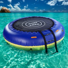 Trampolin und Kinderpool 4in1