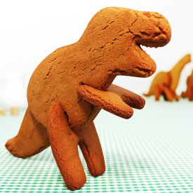 3D Dinosaurier Keksform