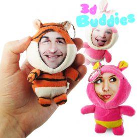 3D Foto-Puppen Schlsselanhnger